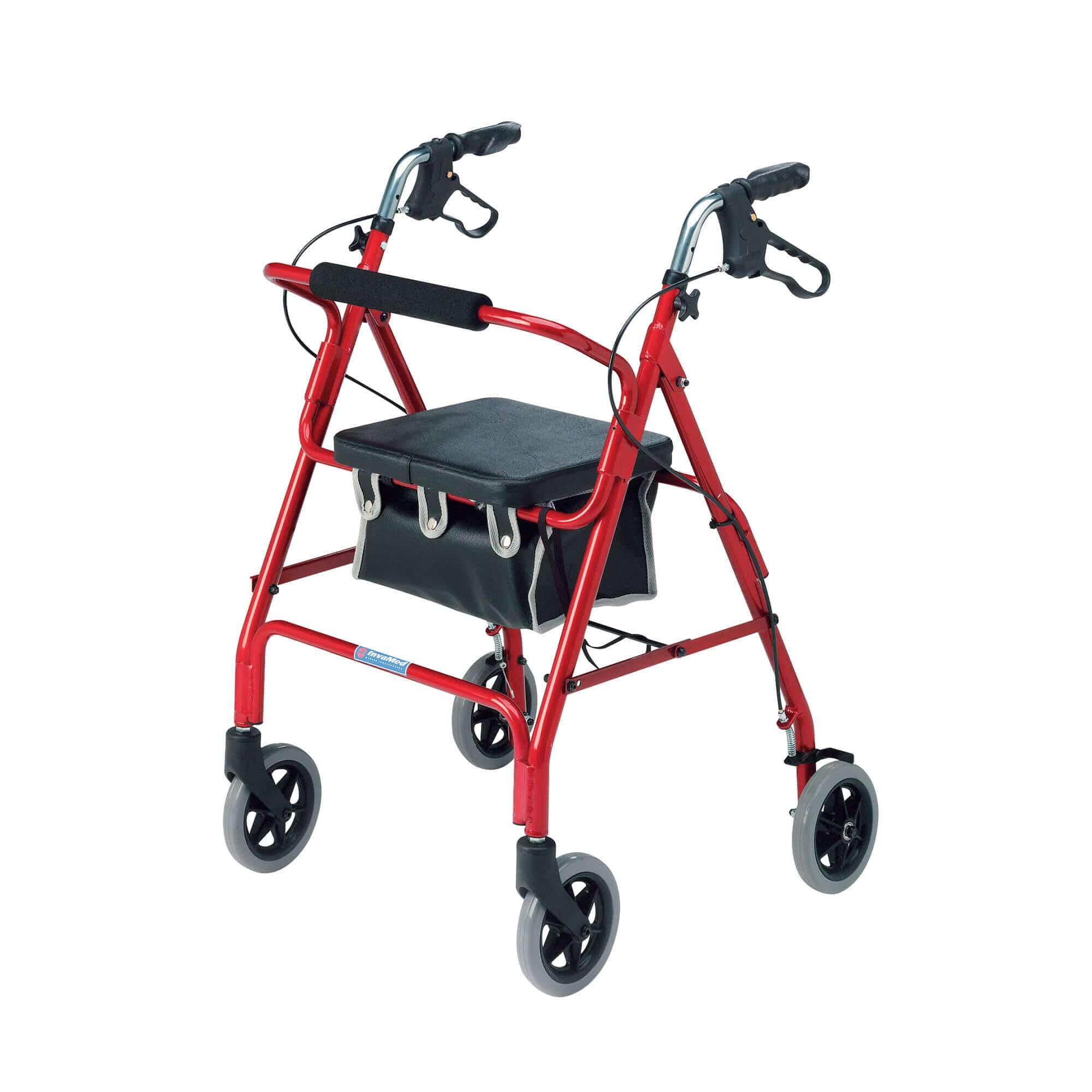 Lightweight 4-wheel Rollator